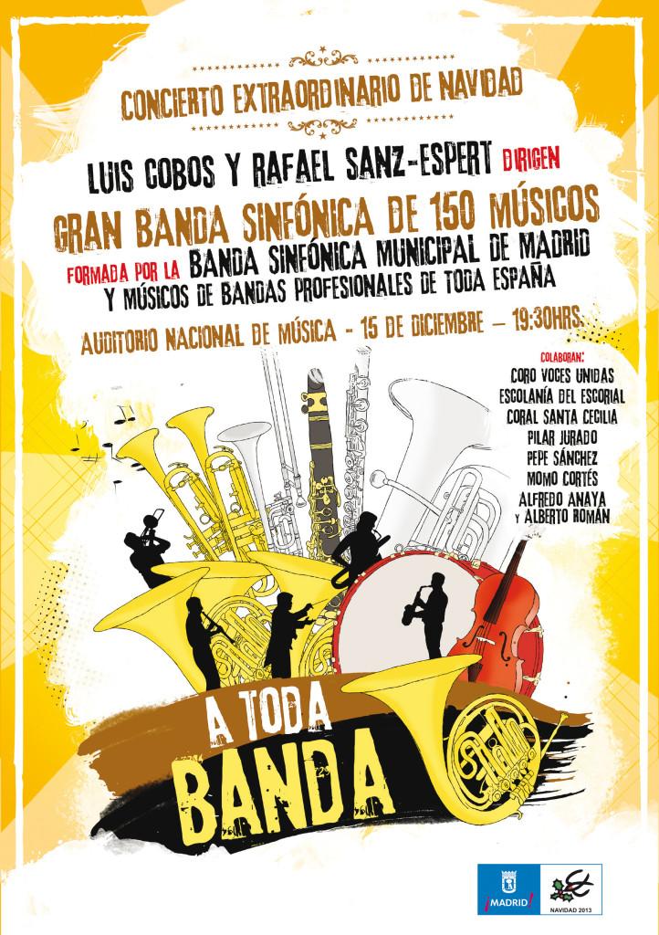 CONCIERTO ¡A TODA BANDA! EN EL AUDITORIO NACIONAL